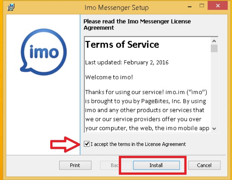 imo messenger installer